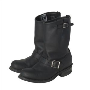 FRYE | Leather Mid Calf Boot